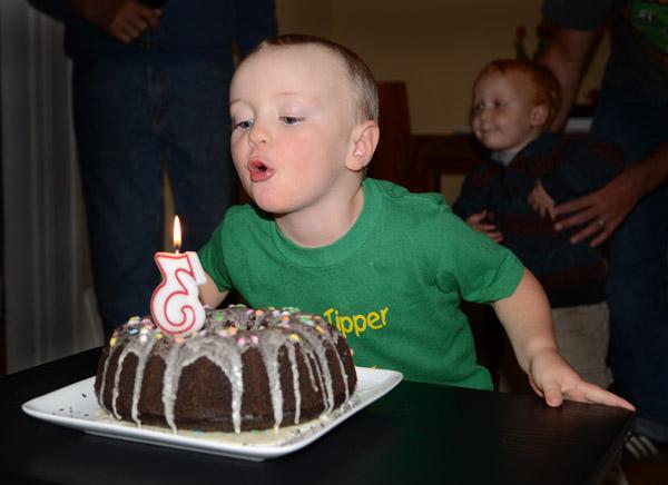 Calvin 3rd Birthday